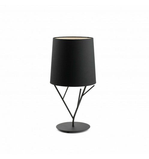 Lampe de chevet moderne noir