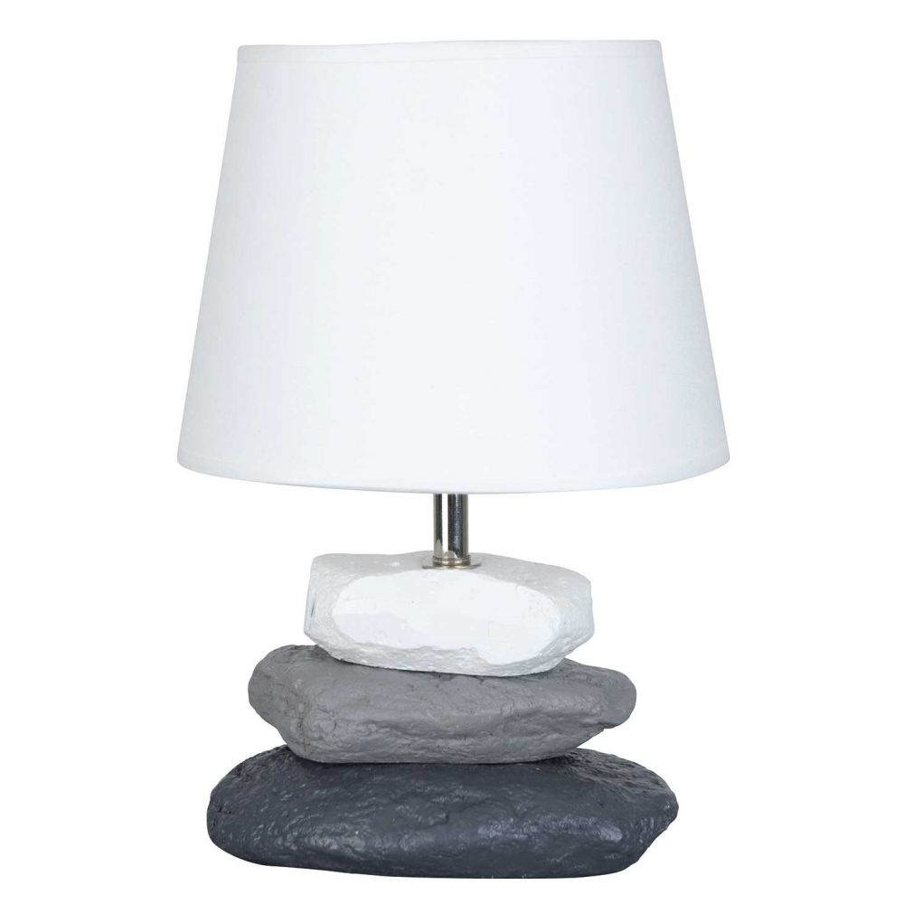 Bleu Maison De Lampe Idée Et Galet Chevet Luminaire XTwikZOPu