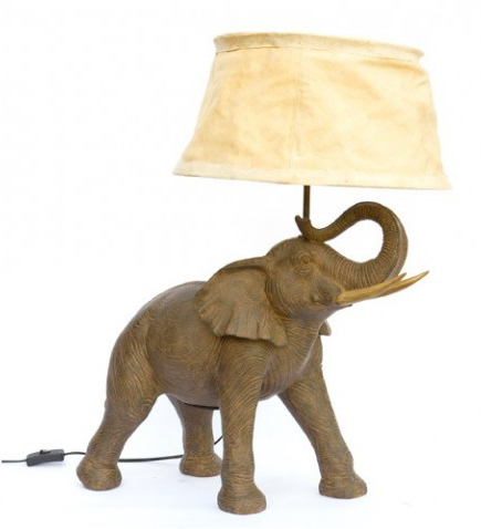 Lampe de chevet elephant