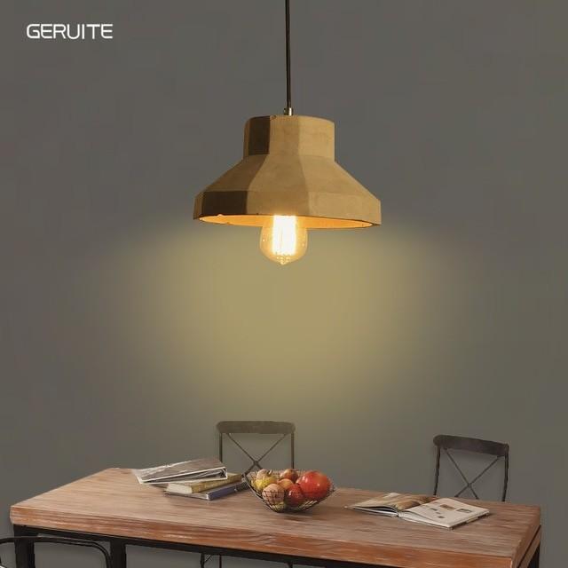 Loft design lampe