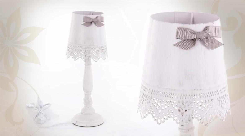 Lampe de chevet romantique