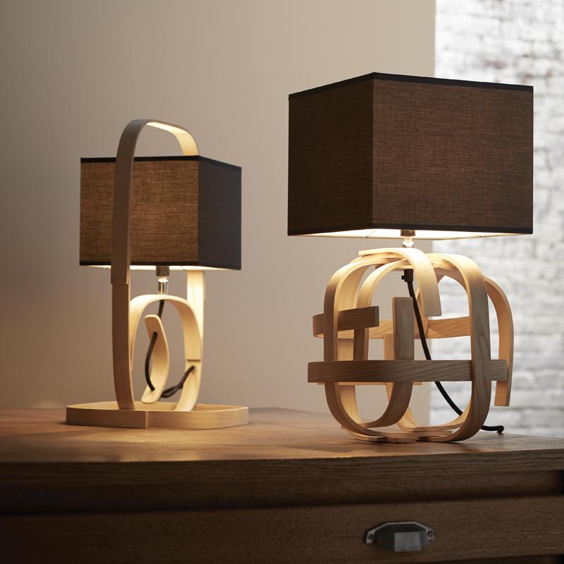 Lampe Et Idée À Luminaire Design Poser Bois Maison De CxdBeor