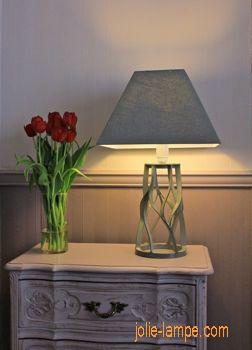 Cartonnage lampe de chevet