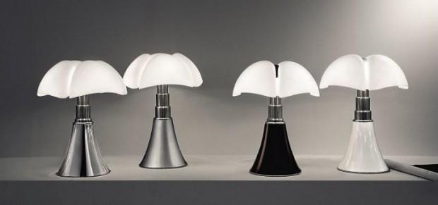 Lampe design italien pipistrello