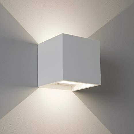 Applique murale cube led
