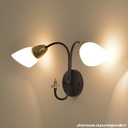 Luminaire Applique Maison Chambre Et Double Idée Lampe De Murale 5jqLAR43