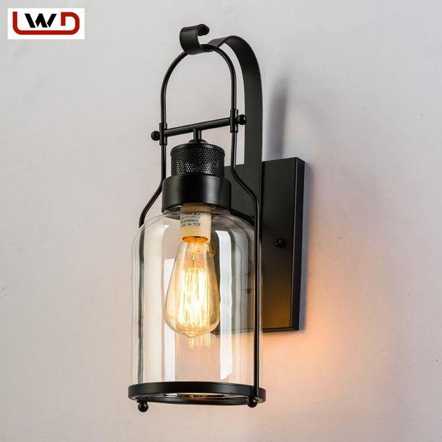 Applique murale vintage industrielle - Idée de luminaire et lampe maison