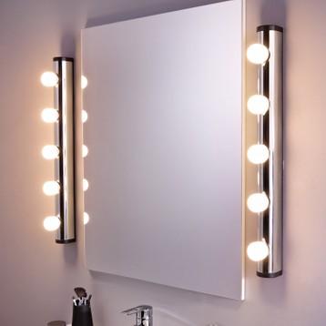 Applique Miroir Maison Luminaire Murale Lampe Idée Avec De Et YIbyf6v7gm