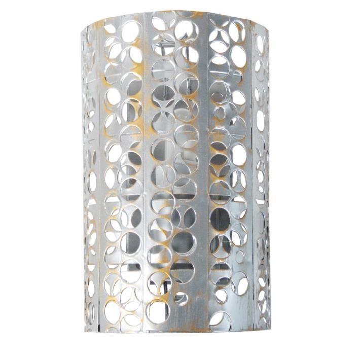 Et Lampe Maison Perforee Murale De Idée Metal Luminaire Applique uXkiTOPZ