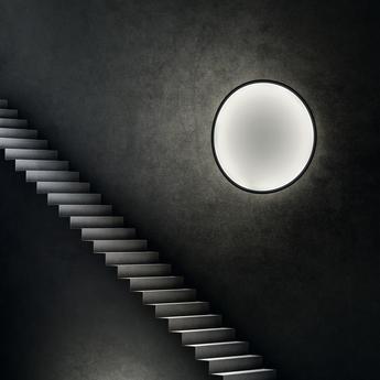 Applique murale noire et blanc