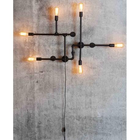 Lampe Idée Et De Industriels Murale Applique Luminaire Maison kZPXiu