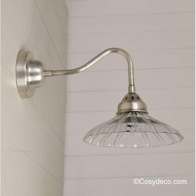 Applique murale vintage verre - Idée de luminaire et lampe ...
