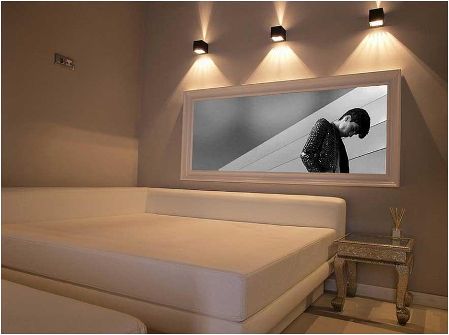 Applique Murale Pour Tableau Idée De Luminaire Et Lampe Maison