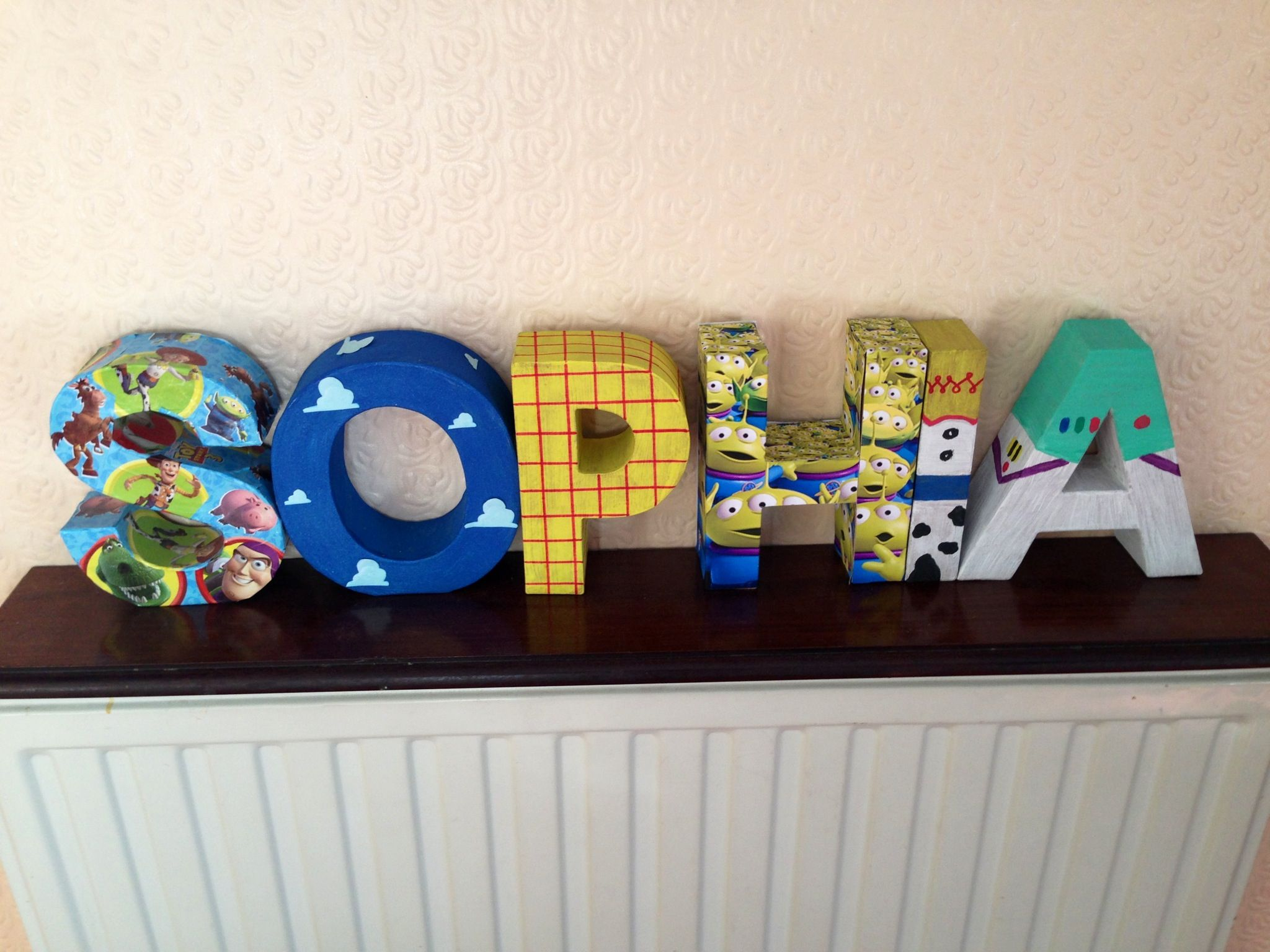 Applique murale toy story