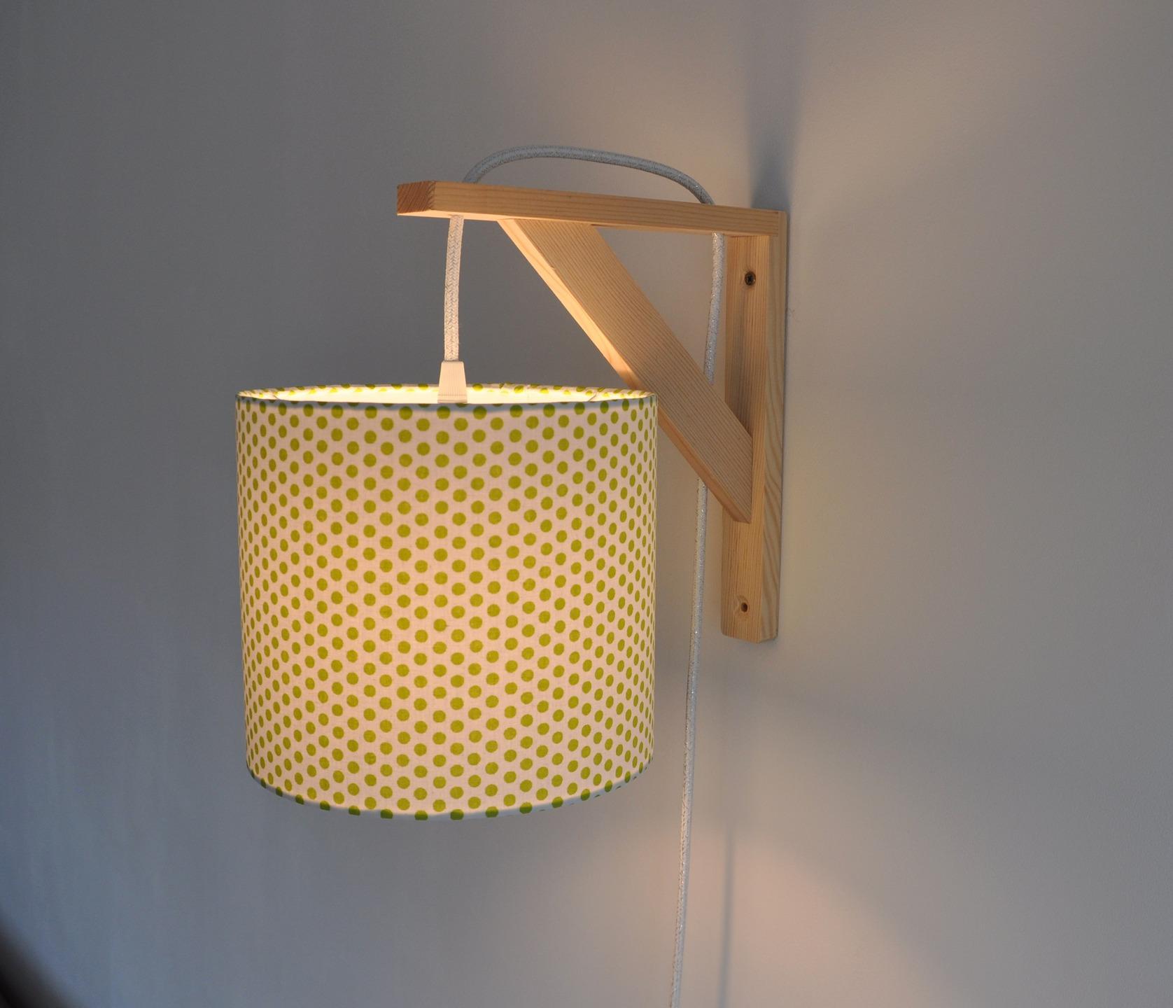 Idée Lampe Et Luminaire En De Maison Tissu Murale Applique m0wvn8N