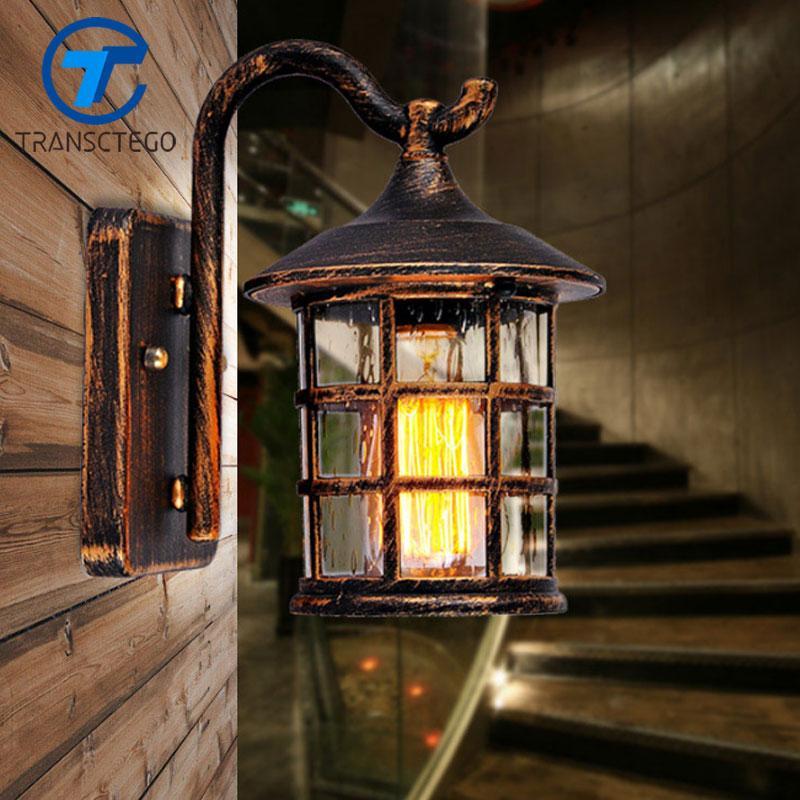 Lampe Maison De Idée Et Chambre Rustique Murale Applique Luminaire uOXkiwZPT